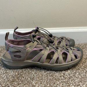 Keen whisper comfort bungee waterproof sandals 12